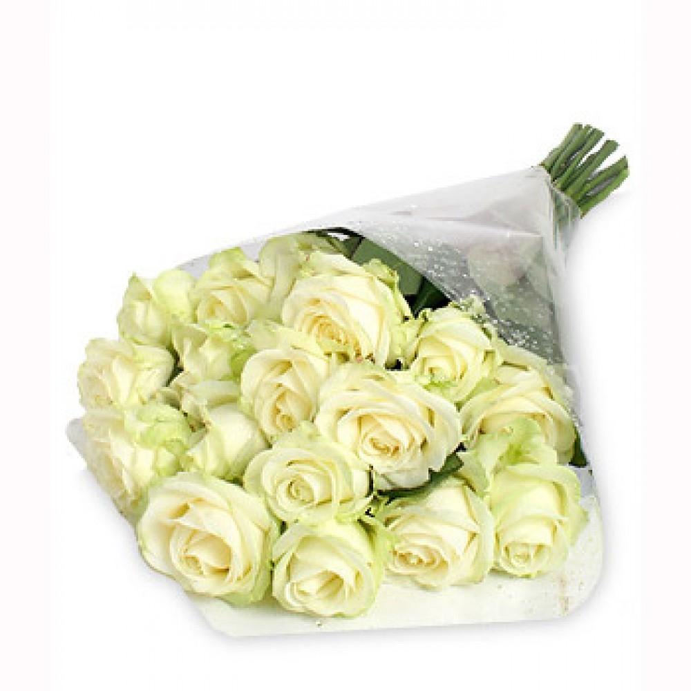 Красочные белые розы для любых поздравления. Просто сохраните на